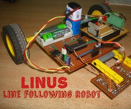 LINUS: The line following robot