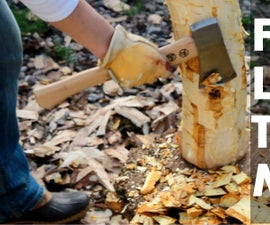 How To Turn a Log into a Mallet