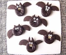 Spooktacular (Doughnut) Bats