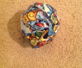 Duck Tape Balloon Ball