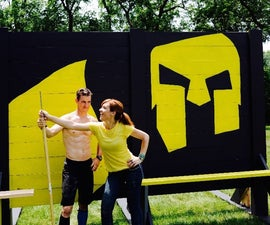How to make a Spartan Race spear