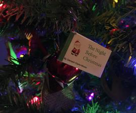 Christmas Mini-Book Ornament