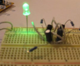 Two transistor LED Flasher Circuit