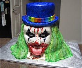 How to Make an Evil Clown Cake.