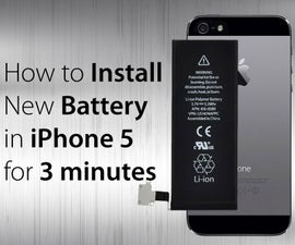 How to install New Battery in iPhone 5 in 5 Easy Steps