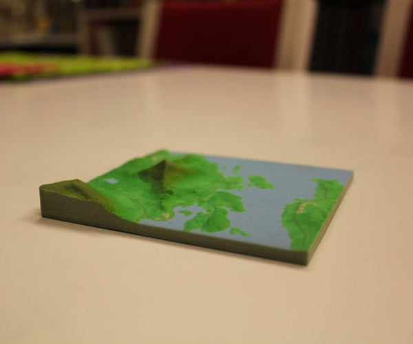 3D Printing Models of Landscapes (Topology, Mountains, Etc.)