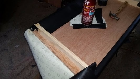 Wrap the Plywood