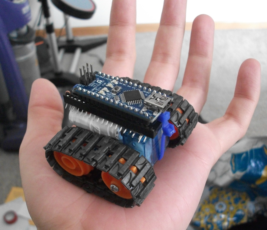 Arduino Nano Based Microbot: 7 Steps (with Pictures)
