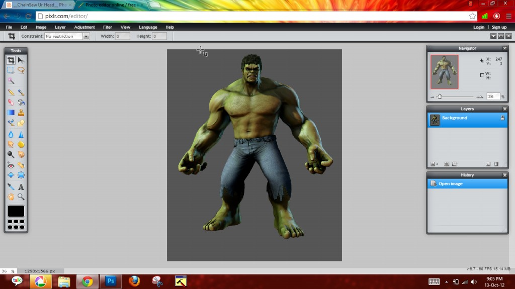 Picture of Separate Hulk + Add Ribs