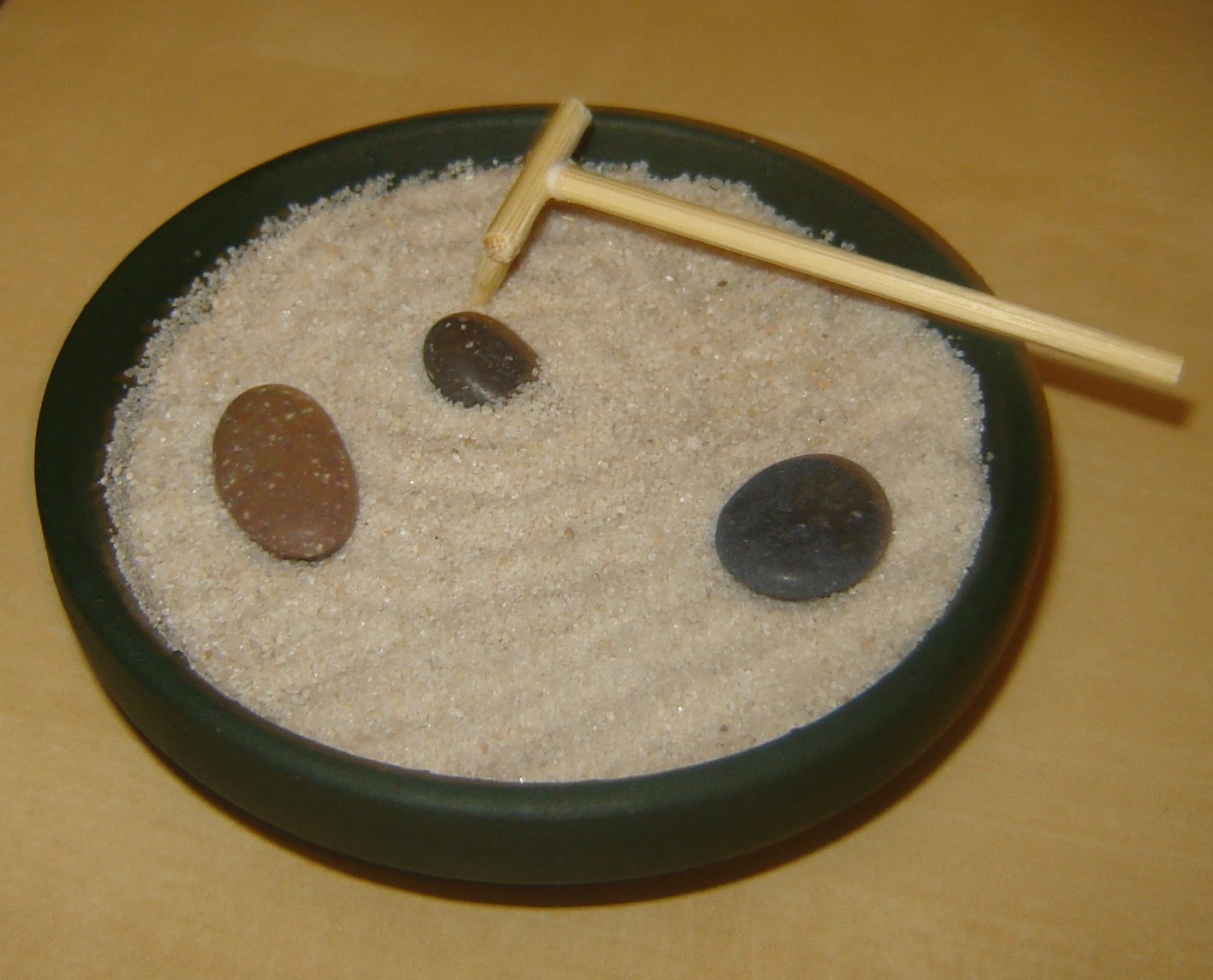 Picture of Zen Garden; Putting It Together