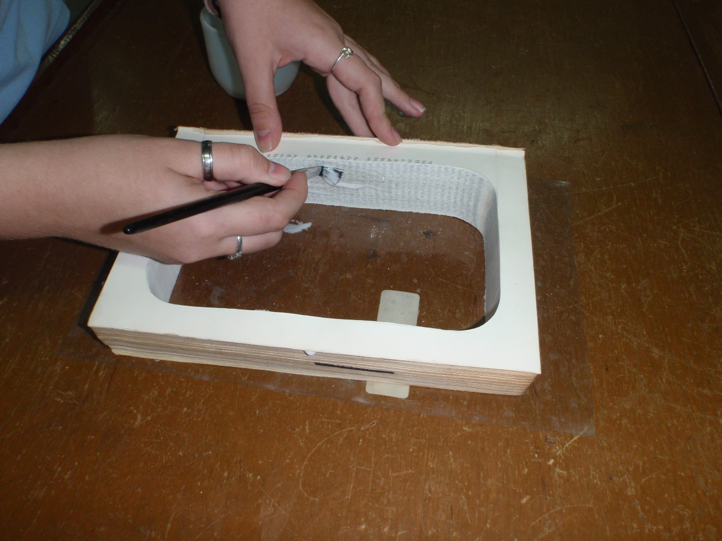 Picture of Gluing the Book