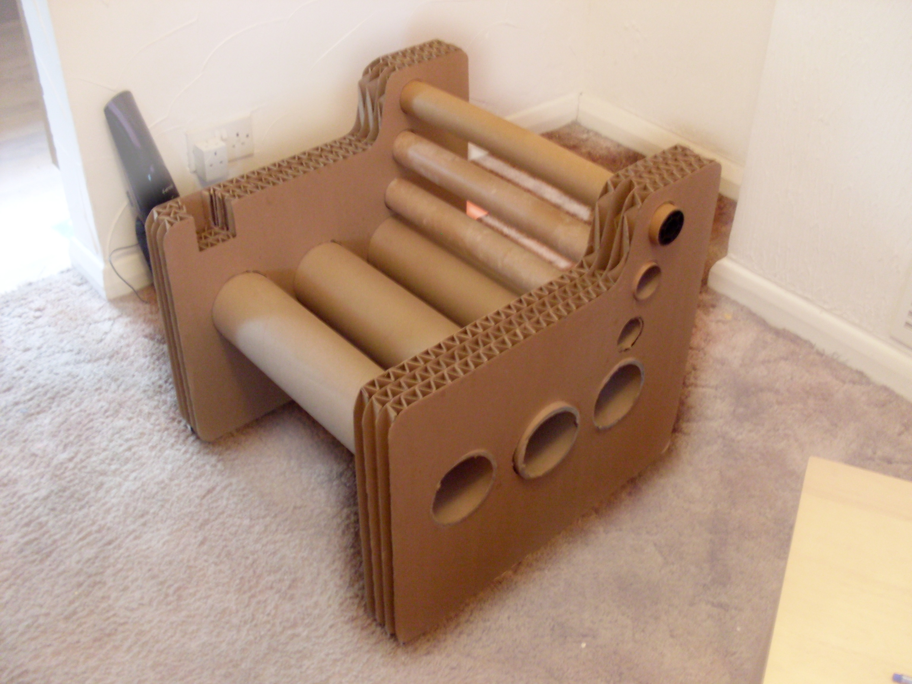 Comfortable cardboard chair designs - Comfortable Cardboard Chair Designs 3