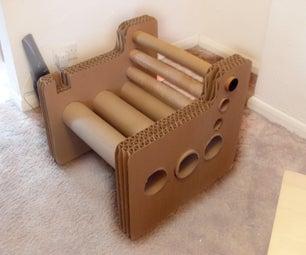 Zig Zag Structure - Cardboard Chair