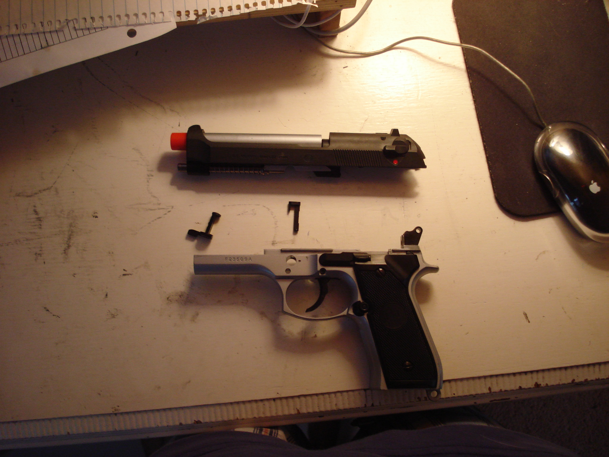 Walther PPS Field Strip - YouTube