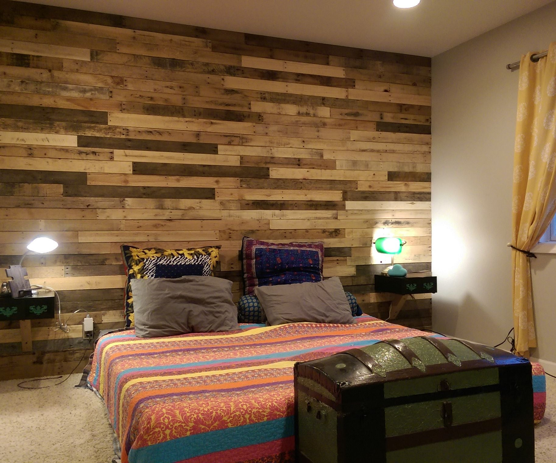 Pallet Accent Wall 4 Steps With Pictures Instructables