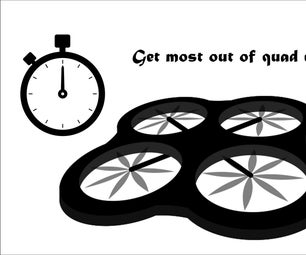 How to Get Best Flight Time for Quadcopter