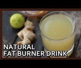 Natural Fat Burner Detox Drink