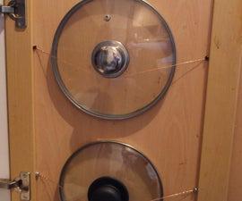 Simple Wire Pan Lid Holsters