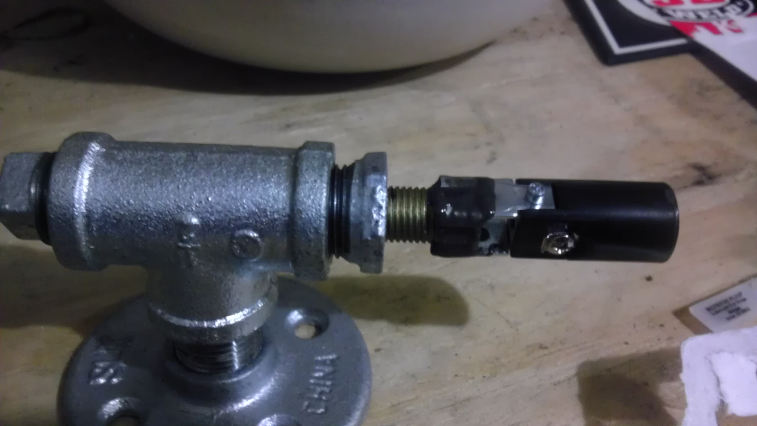 Picture of Cut the Brass Tube and Glue on the Base