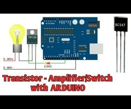 Transistors With Arduino (BJT)  - BC547 TIP120