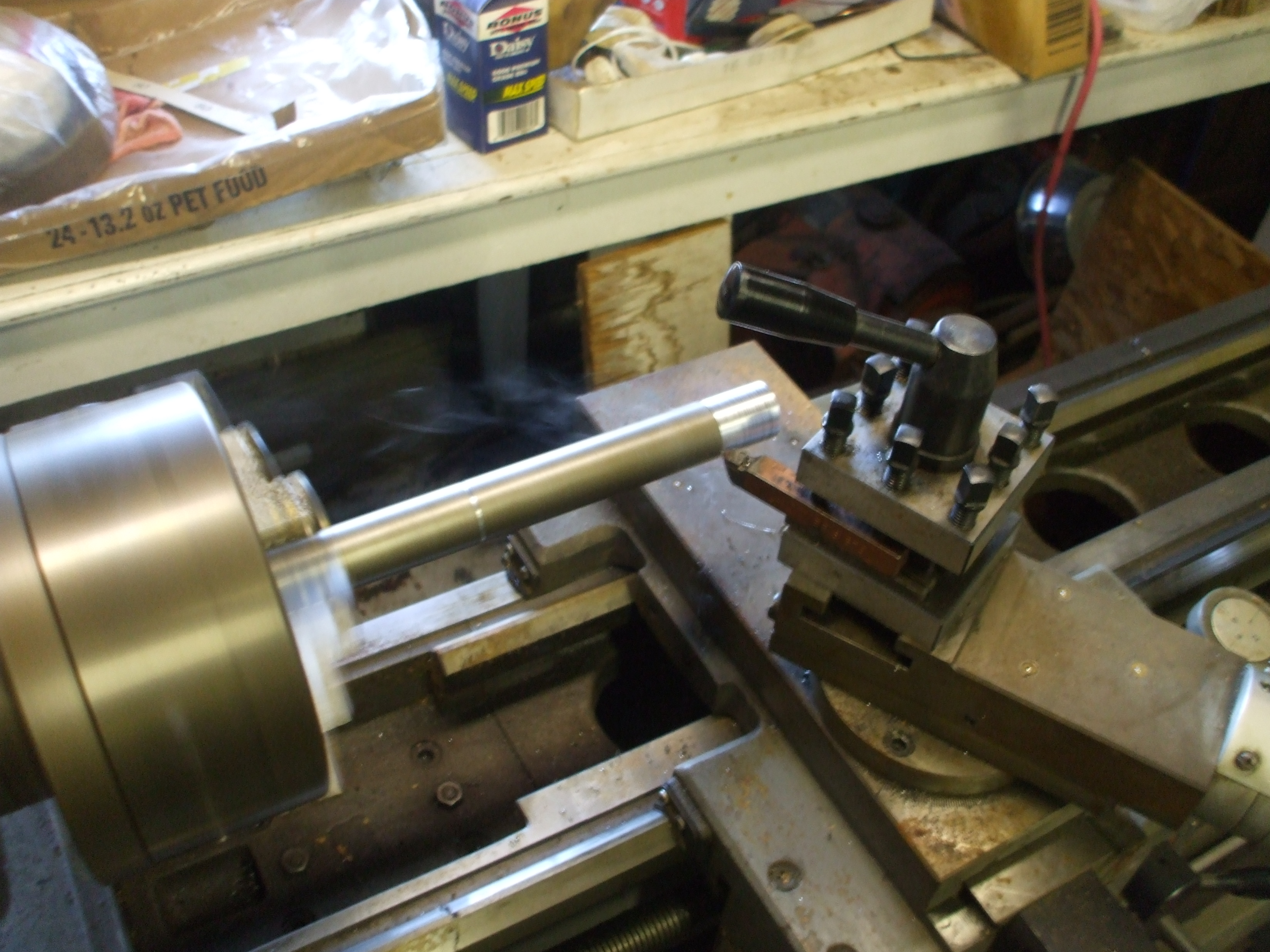 Picture of Building the Superstructure : Making the Centershaft/Axle 1