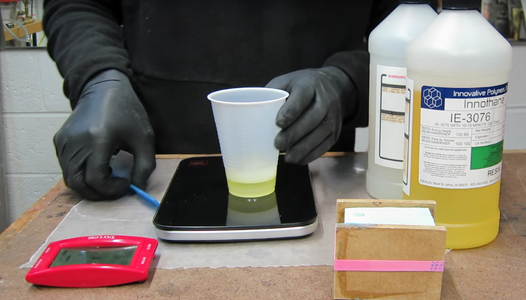 Mixing Your Urethane Resin
