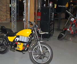 Electric Motorcycle at Instructables/Craftsman Experience Webcast
