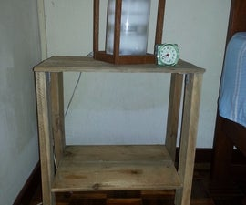Make a Simple Night Table/stand With Pallets
