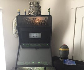 FALLOUT Inspired Arcade Cabinet, or Any Theme You Want