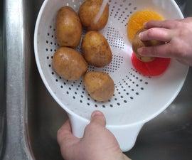 Potato/Veggie Wash Station