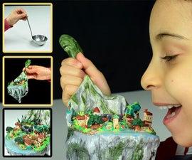 ♡ DIY Miniature Village Using a Ladle ♡