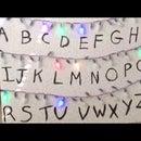 Stranger Things:  Alphabet Wall