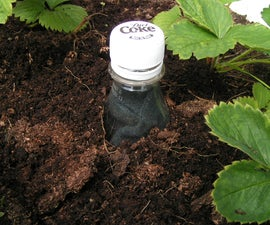 How to save water in gardens and small-holdings: the Scrooge Bottle.