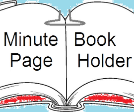 5 Minute Book Page Holder