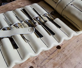 Make a Leather Tool Roll