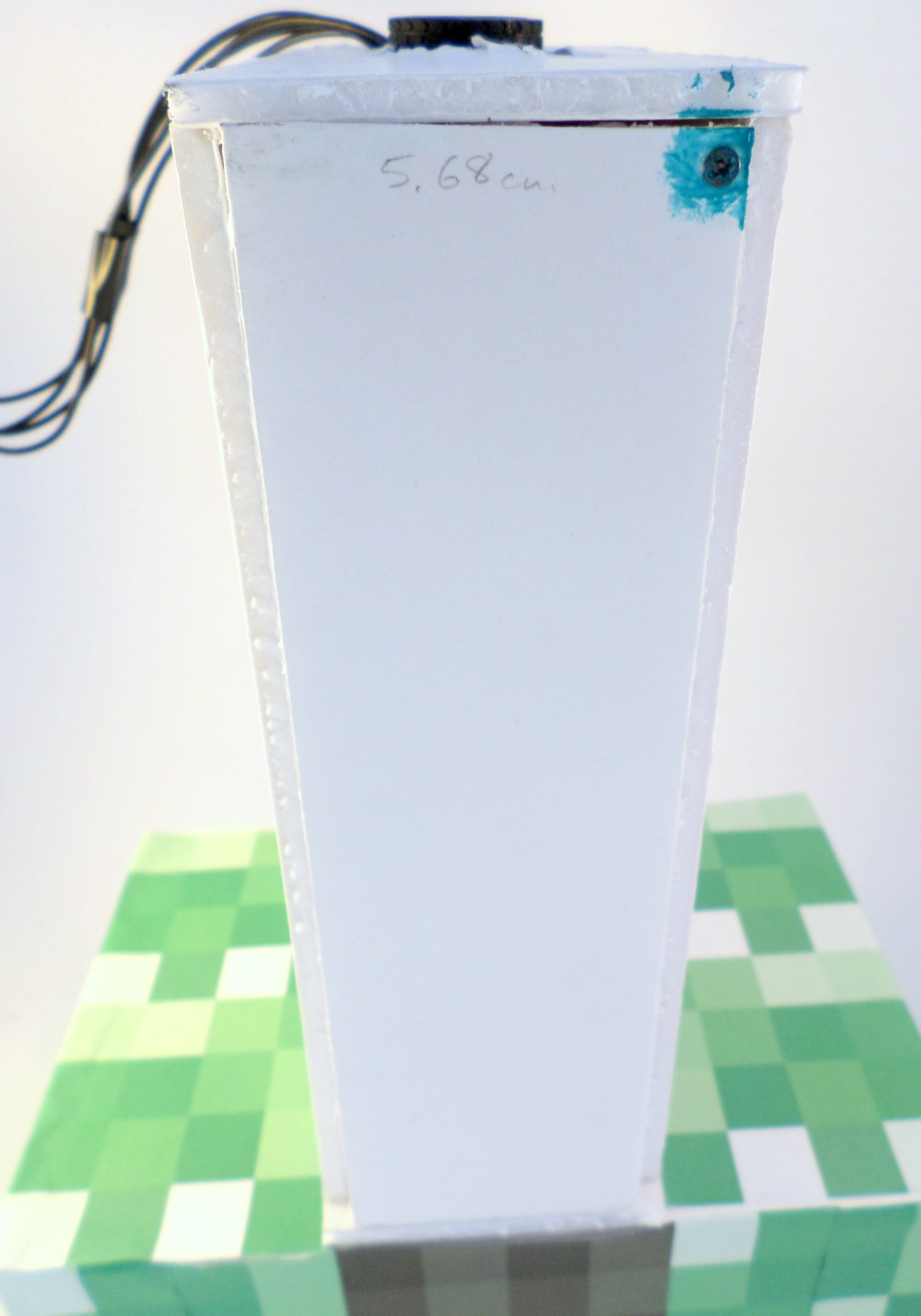Picture of Putting the Creeper Skin on the Torso
