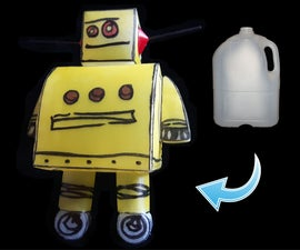 Welding Plastics: Instructables Robot Nightlight