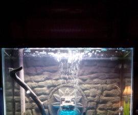 3D Aquarium Background - Quetzalcoatl
