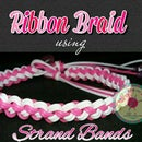 Ribbon Braid using Strand Bands