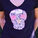 Lace Skull Tee DIY