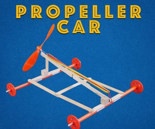 Propeller-Powered Car - Engineering Project for Kids
