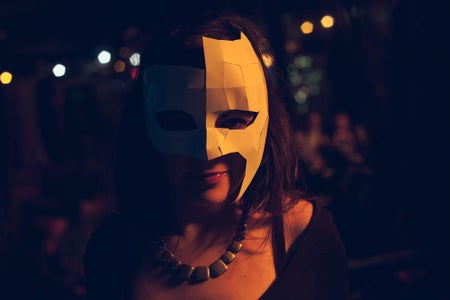 Halloween LowPoly Papercraft Mask