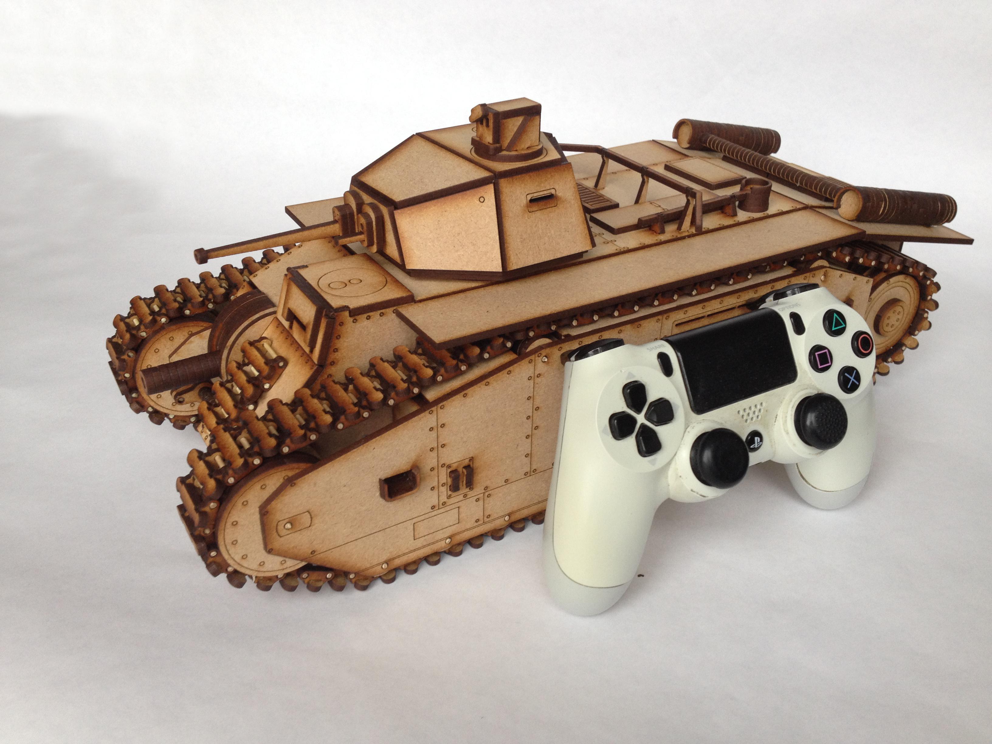 Picture of Carter's Lasercut Tank - B1 Bis