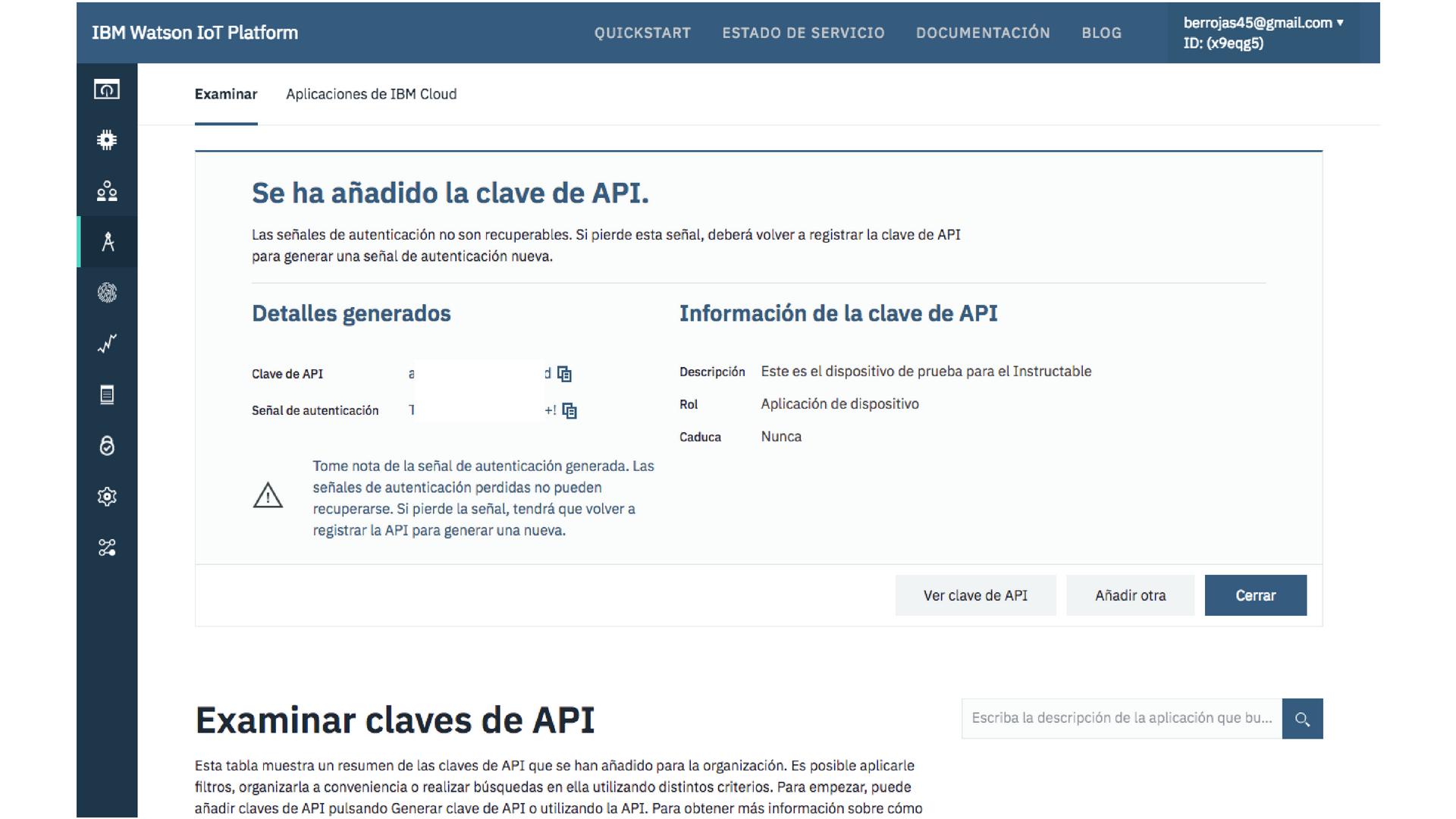 Picture of Creando API