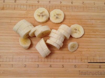 Mantén Frescas Las Rodajas De Plátano