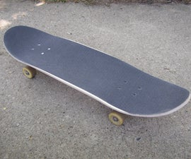 Use a Vacuum cleaner to build your own Skateboard