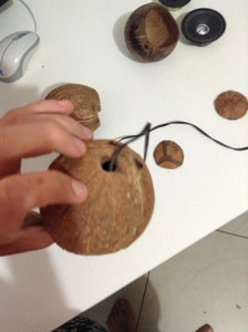 Cut the Coconut and Bamboo