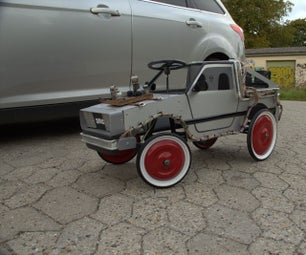 Custom Delorean Pedalcar