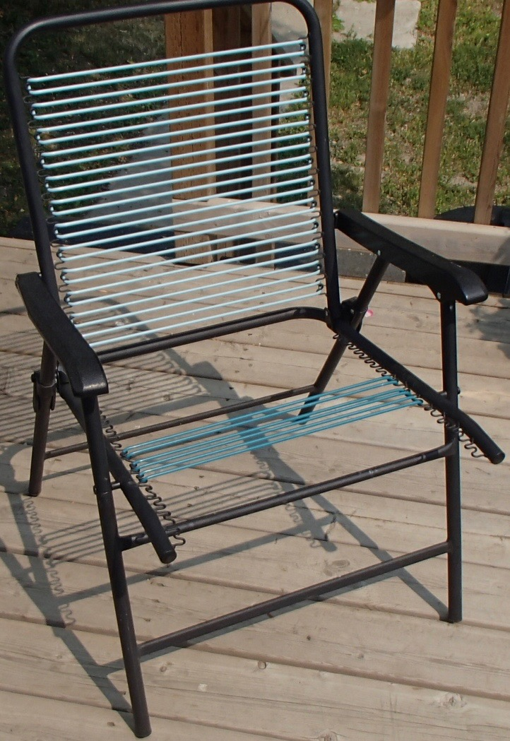 Picture of Easy Lawn Chair Webbing Repair - With Oven!
