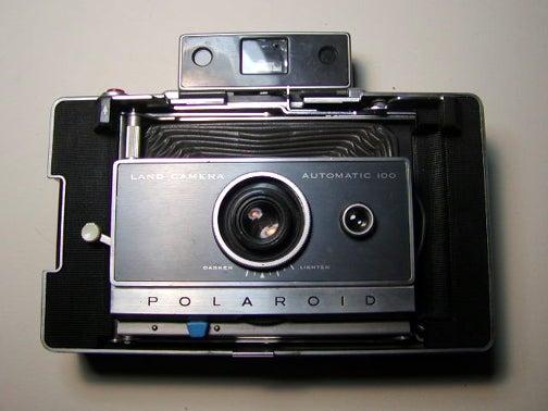 Polaroid Pinhole Camera